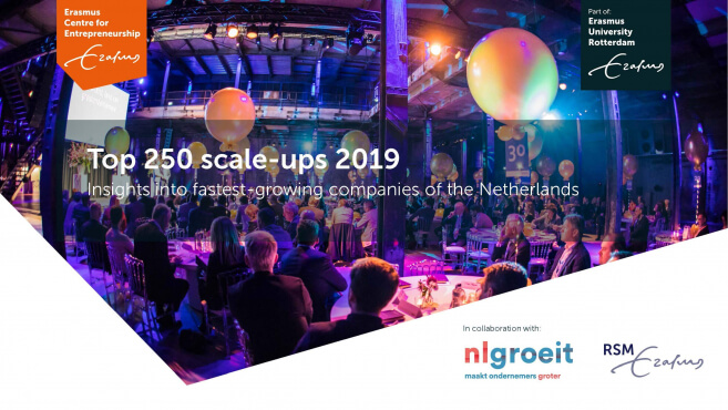 Lead Healthcare in de Top 250 Scale-ups 2019 van het Erasmus Center for Entrepeneurship!